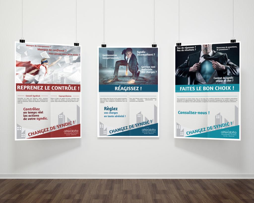 Campagne de communication réalisée par l'agence de communication La Stratégie Créative